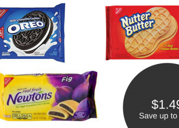 Nabisco Deals – $1.49 for Nutter Butter, Oreo, Newtons, & More