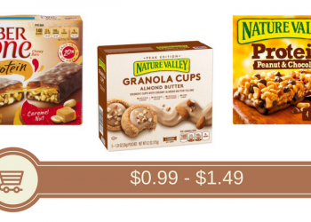 Nature Valley Granola Cups for $0.99 [Fiber One & Nature Valley Bars $1.49]