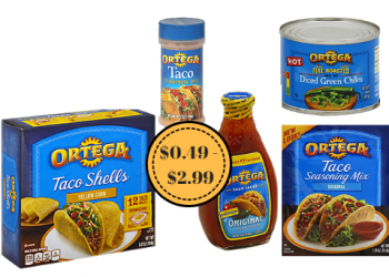 Ortega Sale & Coupons = $0.75 Green Chiles, $2.00 Sauce & More