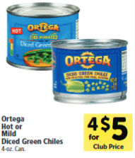 Ortega chili Sale