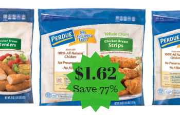 Perdue Frozen Fully Cooked Chicken Strips, Nuggets & Patties as Low as $1.62