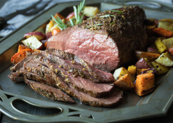 Roasted Tri-Tip Recipe With Root Vegetables