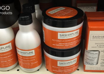 SASHAPURE Hair Care Products – Buy 1, Get 1 FREE