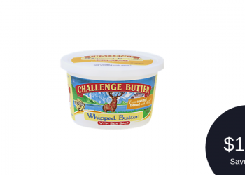 Challenge Butter Coupon – $1.50 for Whipped Butter