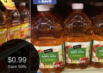 Signature Kitchens or Signature SELECT Apple Juice & Cider for $0.99