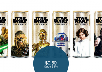 Star Wars Space Punch for $0.50 (Reg. $2.99)