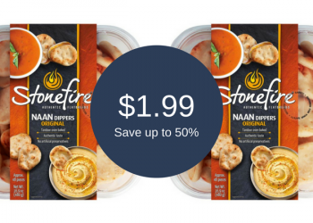 Stonefire Naan Coupons, Pay as Low as $1.99 for Dippers