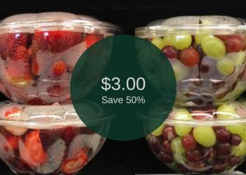 Grape & Strawberry Bowls – Buy 1, Get 1 FREE (Perfect for Picnics & Festivals)