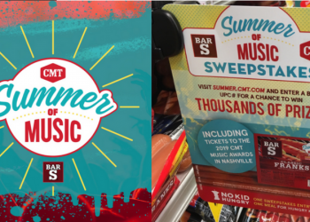 Summer of Music Sweepstakes – WIN Thousands of Prizes (2019 CMT Music Awards Tickets, $1000, & More)