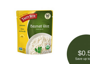 Tasty Bite Coupon, Only $0.50 for Rice