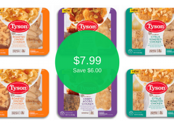 Tyson Entree Kit or Dinner Kit Coupon – Pay as Low as $7.99 (Save $6.00)