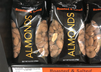 Wonderful Roasted & Salted Almonds Just $2.50 With New Sale and Coupon