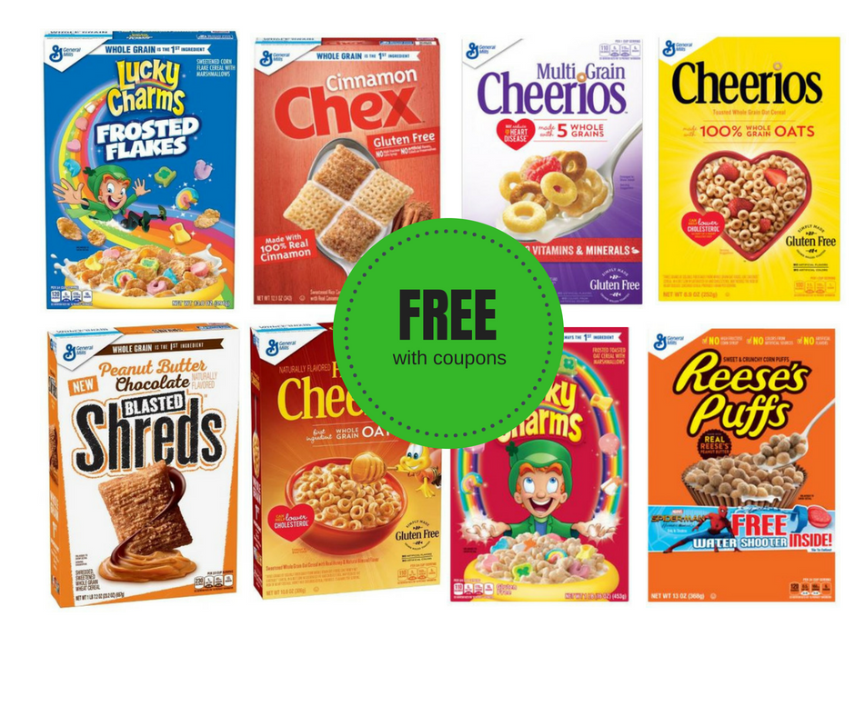 General Mills Cereal Catalina + Sale + Coupons = FREE