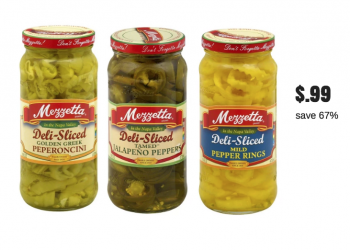 Rare Mezzetta Peppers Coupon for BOGO Free Sale at Safeway – Pay just $.99