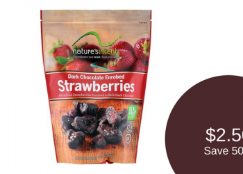 nature's intent Dark Chocolate Enrobed Fruit – Buy 1, Get 1 FREE