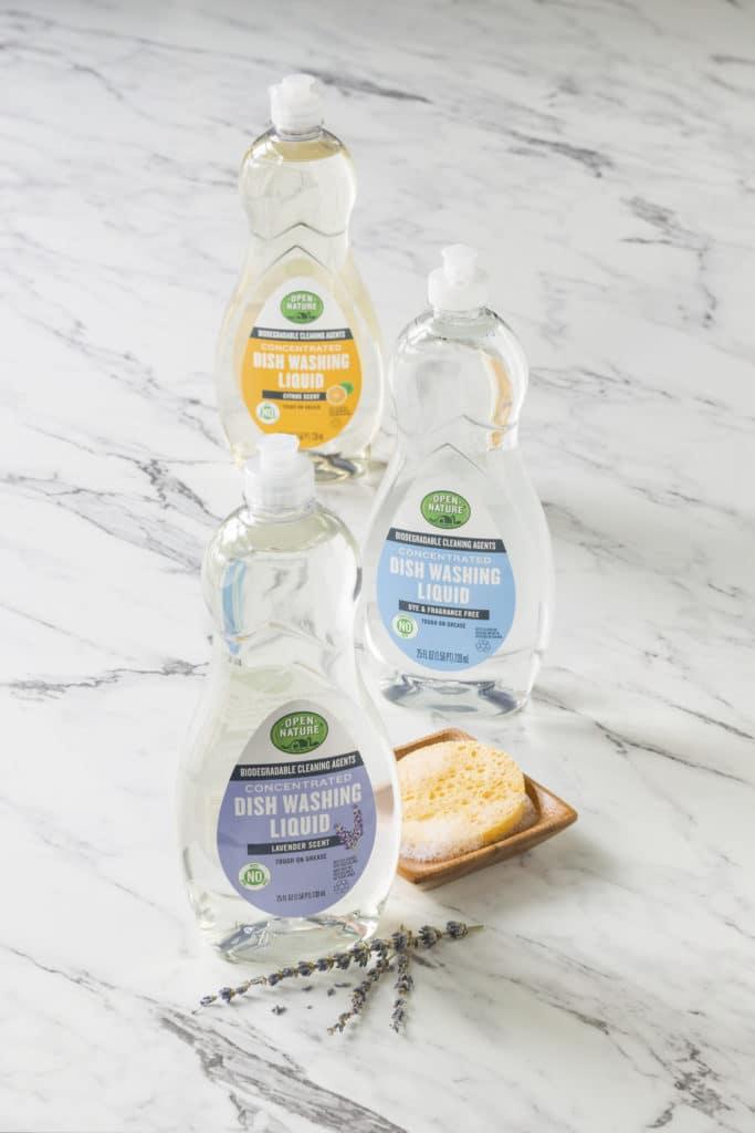 open nature dish soap