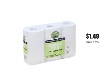 Open Nature Bath Tissue 6 Packs Just $1.49 With Sale and Coupon