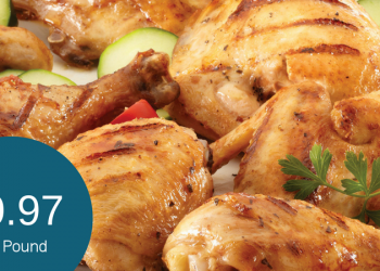 Signature Farms Chicken for $0.97 Per Pound – Whole, Drumsticks, Thighs, & Leg Quarters