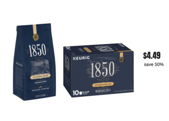 Get Folgers 1850 Coffee For Just $4.49 With New High Value Coupon