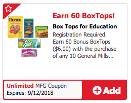 60 Box Tops coupon