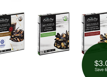 Bantry Bay Mussels – Buy 1, Get TWO Free ($3.00 Per Box)