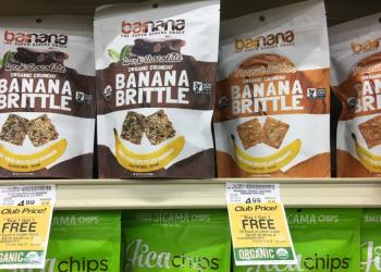 Organic Barnana Banana Brittle – Buy 1, Get 1 FREE ($2.50 Per Bag)