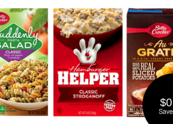 Betty Crocker Products for $0.75 = Helper, Potatoes, &/or Suddenly Salad