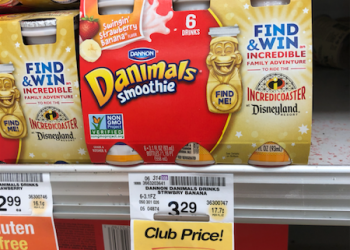Danimals Smoothies 6 Packs just $1.50 With Coupon at Safeway