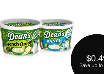 Dean's Dip SavingStar or Checkout51 Cash Back Offers – Pay as Low as $0.49
