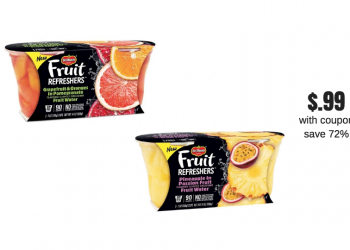 Del Monte Fruit Refreshers Just $.99 at Safeway