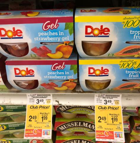 Dole Fruit Cups