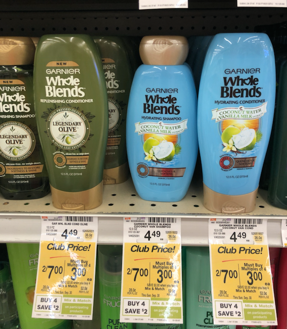 photograph regarding Garnier Whole Blends Printable Coupon identify Garnier Complete Blends and Fructis Hair Treatment Only $1.00 Just about every