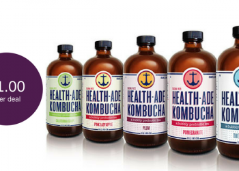 Health-Ade Kombucha for as Low as $1.00