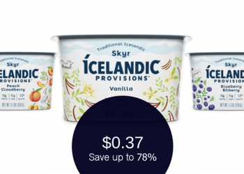 Icelandic Provisions Skyr Ibotta & Coupon – Pay as Low as $0.37 Each (Reg. $1.69)