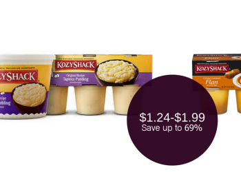 Kozy Shack on Sale – Pay $1.24 or $1.99 (Pudding or Flan)