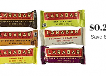 Larabars Just $0.28 each at Safeway (Save 82%)