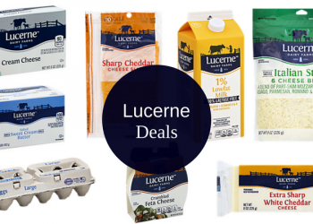 Lucerne Food Deals – as Low as $1.19 for Eggs, $1.49 for Cheese, & More