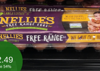 Nellie's Coupon – Only $2.49 for Free Range Eggs