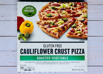 Open Nature Cauliflower Crust Pizza – New at Safeway