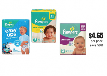 New P&G Catalina – Get Pampers Diapers and Easy Ups Training Pants For $4.65 Per Pack