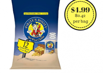 Pirate Booty 12 Pack Just $4.99 – Only $0.42 Per Bag