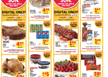 Safeway's HOT 3 Day Digital Coupon Event – Save on Chicken, Shrimp, Steak, Soda and More!