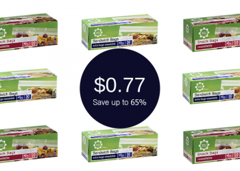 Signature HOME Sandwich Bags for Only $0.77