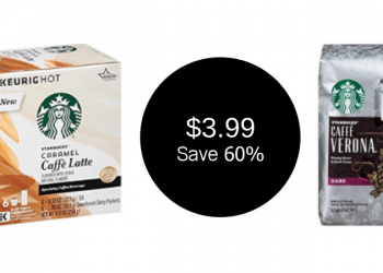 HOT Starbucks Coupon, Only $3.99 For Coffee or Latte