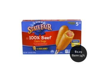 State Fair Corn Dogs 6 pack Just $2.29 at Safeway