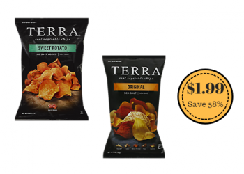 Terra Chips Just $1.99 With New Sale and Coupon
