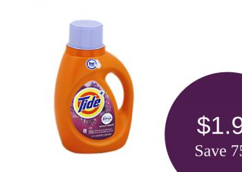 ?HOT? Tide Detergent for ONLY $1.99