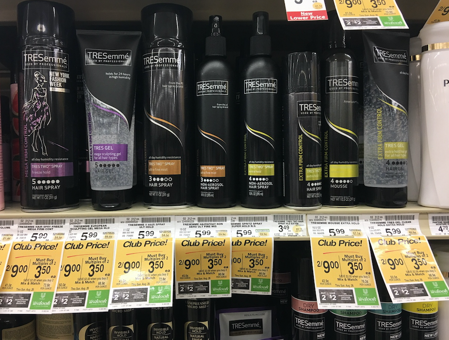 Tresemme hair care