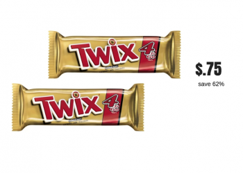 New Twix Coupon – Pay just $.75 for King Size Twix Candy Bars