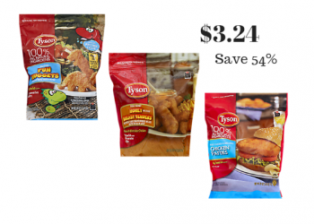 Tyson Frozen Chicken Just $3.24 After Coupons (Reg. $6.99)